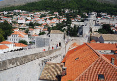 Old town of Dubrovnik, Croatia. Balkans, Adriatic sea, Europe. Beauty world. Stock Photos