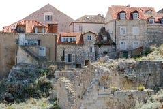 Old town of Dubrovnik, Croatia. Balkans, Adriatic sea, Europe. Stock Image