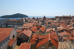 Old town of Dubrovnik, Croatia. Balkans, Adriatic sea, Europe. Beauty world. Royalty Free Stock Photo