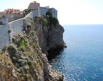 Old town of Dubrovnik, Croatia. Balkans, Adriatic sea, Europe. Beauty world. Royalty Free Stock Image