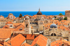 Old town Dubrovnik, Croatia stock photos