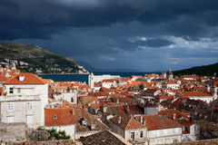 Old Town of Dubrovnik in Croatia Royalty Free Stock Photography