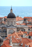 The old town Dubrovnik Croatia Stock Photo