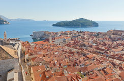 Old Town of Dubrovnik, Croatia. UNESCO site Royalty Free Stock Image