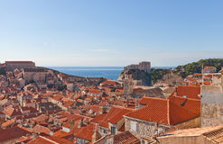 Old Town of Dubrovnik, Croatia. UNESCO site Royalty Free Stock Photography