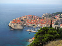 The Old Town of Dubrovnik, Croatia Stock Images