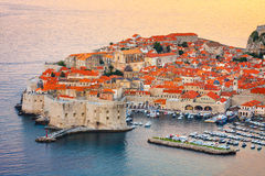 Old town in Dubrovnik, Croatia Stock Image