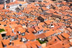Old town of Dubrovnik Stock Image