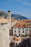 Old Town of Dubrovnik Royalty Free Stock Photos