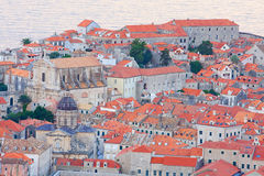 The Old Town of Dubrovnik in the evening, Croatia Royalty Free Stock Photo