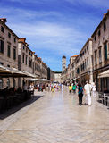 Old Town Dubrovnik Stock Images