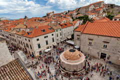Old Town Dubrovnik, Onofrio Fountain Royalty Free Stock Photos