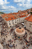 Old Town Dubrovnik, Onofrio Fountain Stock Image