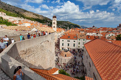 Old Town Dubrovnik, Onofrio Fountain Stock Photo