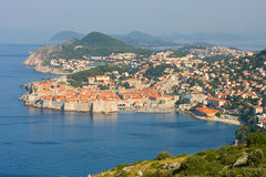 The Old Town of Dubrovnik, sunrise, early morning,  Croatia Stock Photo