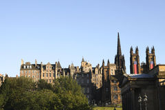 Old Town Edinburgh Royalty Free Stock Photos