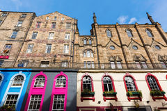 In the Old Town of Edinburgh, Scotland Royalty Free Stock Photo
