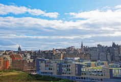 Old Town of Edinburgh Scotland Stock Photography