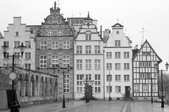 Old town of Elblag, Poland Royalty Free Stock Image