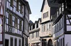 Old town of Eltville. Rheingau, Hesse, Germany Royalty Free Stock Image