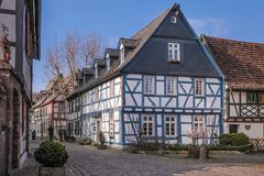 Old town of Eltville Royalty Free Stock Photo