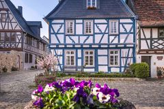 Old town of Eltville. Rheingau, Hesse, Germany Royalty Free Stock Photo