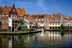 Old town of Enkhuizen, Netherlands Stock Photos