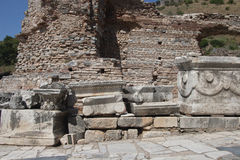 Old Town of Ephesus. Turkey Stock Image