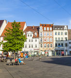 Old town of Erfurt, Germany Royalty Free Stock Image