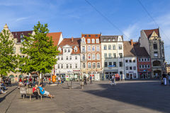 Old town of Erfurt, Germany Royalty Free Stock Images