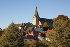 Old town of Essen-Kettwig Royalty Free Stock Images