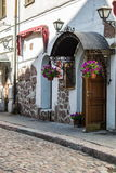 Old town in Europe at summer Royalty Free Stock Photography