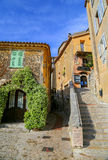 Old town Eze sur Mer in the French Riviera Stock Photos