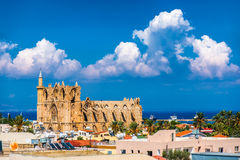 Old town of Famagusta (Gazimagusa), Cyprus Stock Image