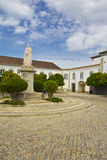 Old town in Faro. Portugal stock images