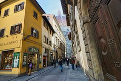 Old town in Florence, Italy royalty free stock photos