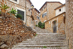 The old town Fornalutx. Mallorca, Spain Royalty Free Stock Photography