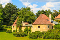 Old town fortification in Trebon, Czech Republic Royalty Free Stock Photo