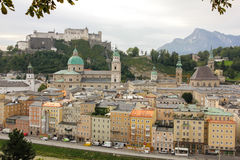 Old town and fortress. Salzburg. Austria Royalty Free Stock Images