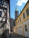 Old town - framework Royalty Free Stock Photo