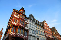Old town in Frankfurt am Main Stock Images