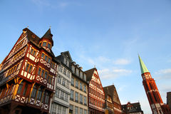 Old town in Frankfurt am Main Royalty Free Stock Image