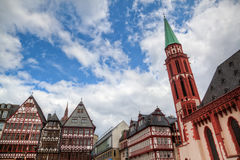 Old town of Frankfurt am Main Stock Image