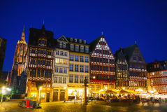 Old town in Frankfurt am Maine Royalty Free Stock Photography