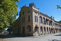 The old town in fredrikstad (women's prison) Royalty Free Stock Photo