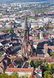 Old town Freiburg im Breisgau, Germany Royalty Free Stock Photo