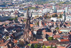 Old town Freiburg im Breisgau, Germany Stock Photography
