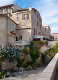 The old town of french riviera Royalty Free Stock Photos