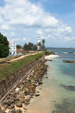 Old town of Galle Stock Images