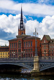 Old Town (Gamla Stan) in Stockholm, Sweden Stock Images